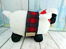 "Vintage Woolrich Plush Stuffed Lamb Sheep White Large - 18"" 1995 Mary Meyer"
