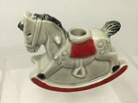 Vintage,1975 Goebel Rocking Horse Candle Stick Holder, 54403-08