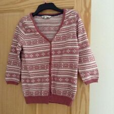 Fat Face Ladies Norwegian Autumn / Winter Style Cardigan - Size 12