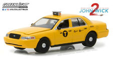 Greenlight 1:64 Hollywood Series 19 2008 Ford Crown Taxi John Wick Chapter 2