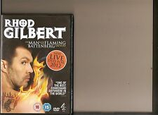 RHOD GILBERT LIVE THE MAN WITH THE FLAMING BATTENBERG TATTOO DVD COMEDY STAND UP