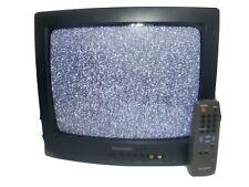 "Sharp 13N-M100B 13"" CRT Tube Television TV Vintage Gaming"