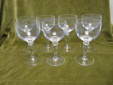 7 verres à eau cristal de Saint Louis  (crystal water glasses)