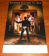Scissor Sisters Ta-Dah Poster Original Tour Promo 17x11