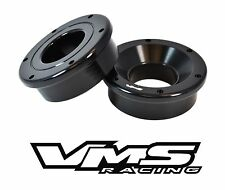 VMS RACING 2PC SOLID FRONT SHIFTER BUSHING FOR 99-00 CIVIC & 94-01 INTEGRA BLACK