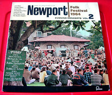 Newport Folk Festival 1964 Vol.2 LP UK ORIG'65 Fontana Joan Baez/J.Fuller+ VINYL