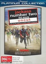 JACKASS Number Two [2] The Movie: Uncut DVD BRAND NEW SEALED Region 4 FREE POST