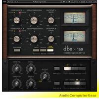 Waves dbx 160 Compressor Limiter Plugin Native+SoundGrid Audio Software NEW