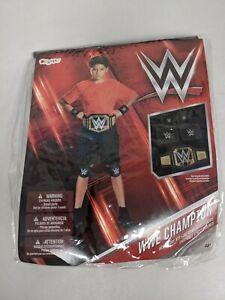 WWE Champion Kids Belt Headband Wristband Costume Age 4+