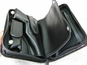 New Black PVC Case For Walther PP, Star SA 7.65 mm .32 ACP & Mag Storage
