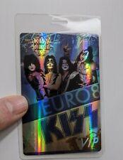 KISS Band -  VIP Backstage Pass Laminate Europe Alive 35 Concert Tour 2008 Gene