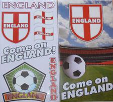 England Stickers Football World Cup Semi Final 2018 St George Flag  Wheelie Bin