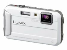 Panasonic Digital Camera Lumix Ft25 Waterproof White Dmc-Ft25-W