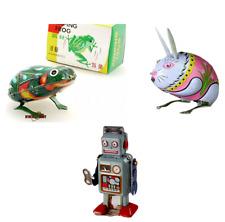 Windup Tin Toy Robot Animal Stocking Filler Bundle Vintage Collectable Clockwork
