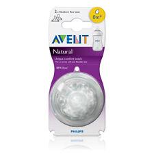 Philip Avent -  Natural Teat Newborn Flow 2pk
