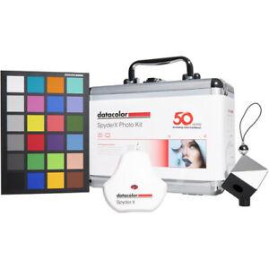 NEW Sealed Datacolor SpyderX Photo Kit SXPK050 Elite+SpyderCUBE+SpyderCHECKR 24
