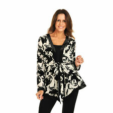 Viscose Dry-clean Only Floral Coats & Jackets for Women