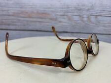 Giorgio Armani MADE IN ITALY Brown/Black RX Eye Glass Frames Womens Round