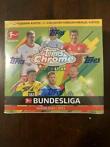 2020-2021 Topps Bundesliga Match Attax Soccer Chrome Sealed Box NEW - IN HAND 🔥