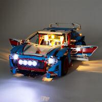 LED Licht Set Für 42077 LEGO Technic Rally Car Beleuchtungs Kit (mit Anleitung)