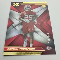 Darwin Thompson 206/249! 2019 Rookie XR Kc Chiefs panini rc