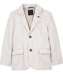 MAYORAL Boy's Tailored Linen Blazer in Beige, Sizes 2-9