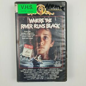 Where the River Runs Black VHS Tape - TRACKED POST - Ex Rental