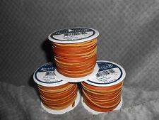 "(1) Realeather Lacing, Chieftan Brown Color 50' Spool 1/8"" Wide. Very Nice."