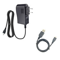 AC Adapter Charger Power Cord + USB Cable for Samsung Galaxy J7 SM-J700T J700M