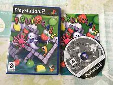 Caída de frutas para Sony Playstation 2 PS2 Juego Completo-FRUITFALL-Raro