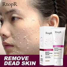Face Exfoliating Gel Brightening Moisturizer Scrub Cleaner Facial Care Whitening