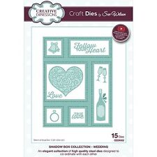 SUE WILSON SHADOW BOX COLLECTION WEDDING DIE SET BY CREATIVE EXPRESSIONS