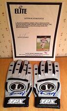 Manny Ramirez Signed Game Used 2005 Red Sox Autographed Batting Gloves Elite ESM