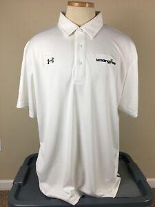 NEW Under Armour Heat Gear Loose Golf Polo Shirt Lendingtree Men's Size XXL NWT