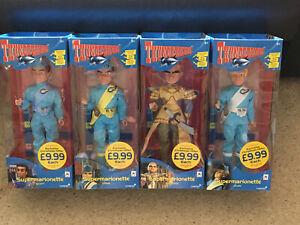 Thunderbirds Supermarionette Puppet X4-Complete Set-Pelham-Unopened - Sainsburys
