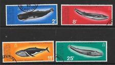 Terr. Antártico Británico SG79/82 1977 ballenas Fine Used