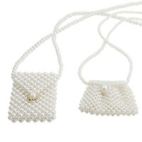 Mini Pearl Beaded Bags Women Handbag Evening Bag Clutch Shoulder & Crossbody Bag