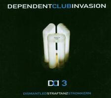 Dependent Club invasione 3 3cd BOX dismantled penale danza elettricità nucleare