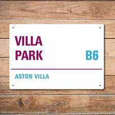Wall Chimp Villa Park, Aston Villa Metal Sign