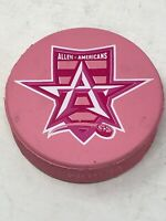 Allen Americans ECHL Hockey League Official Game Pink Puck Minnesota Wild
