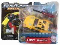 Transformers Energon Deluxe Hot Shot Action Figure NEW 2003 MOSC Yellow Variant