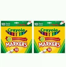 Crayola Classic Colors Broad Line 10ct (2 Pack)