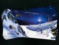 Finland 10 New Skiing Large Souvenir Stamp Sheets
