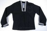 Vintage 90s US Navy DSCP Quarterdeck Military Uniform Wool Dress Blue Jumper 40R