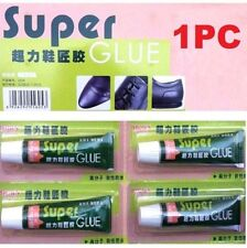 FD4622* Super Adhesive Glue Shoe Repair Tube Leather Rubber Strong Bond Fast x1