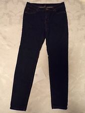 Forever 21 Jr High Rise Blue Denim Jean Skinny Leg Jegging Size 8/29