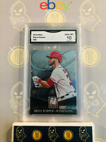 2014 Panini Elite Bryce Harper #56 - 10 GEM MINT GMA Graded Baseball Card