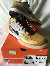 Nike Kobe Zoom IV 4 2009 'Gold medal', Size 11, DS