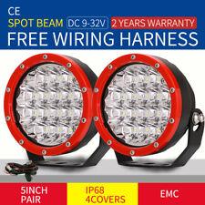 OSRAM 5inch 31800LM Spot Led Driving lights offroad ATV Truck Lamps Red 12V 24V