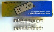 Eiko 211-2 T3 Double End Caps 12.8V 10 Pack Light Bulbs - NEW